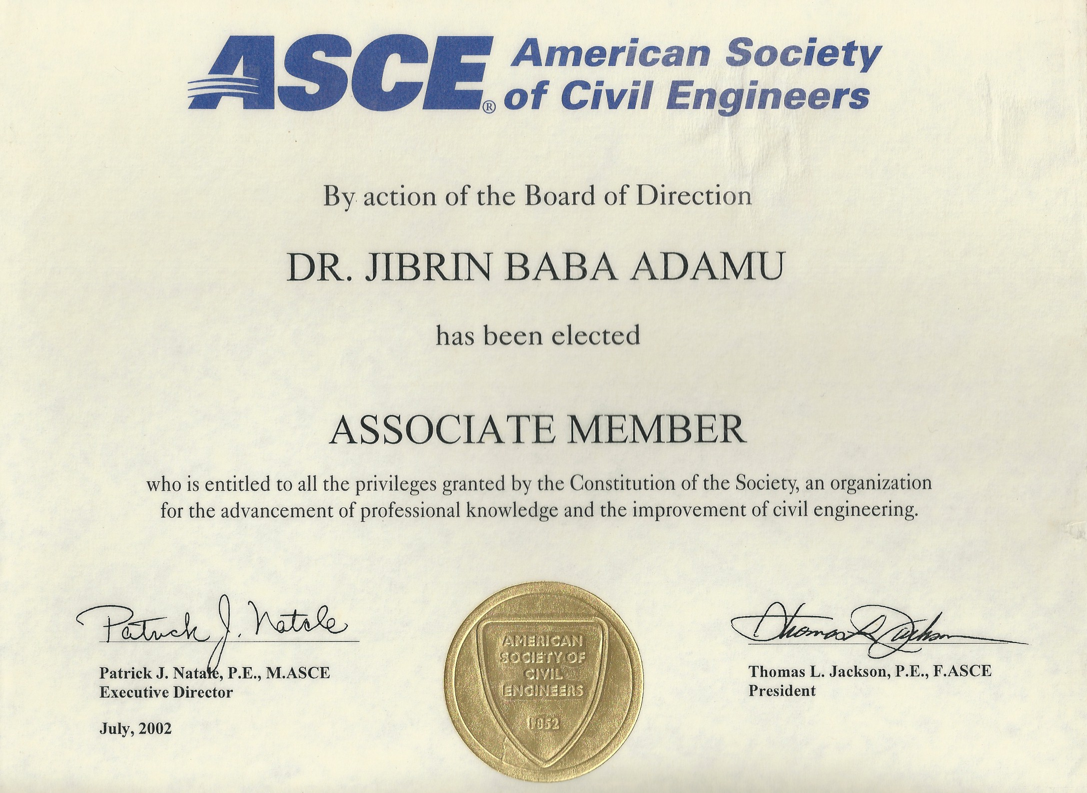 asce research paper